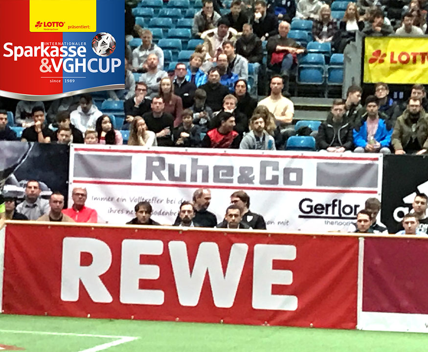 Ruhe & Co. ist Sponsorpartner beim Sparkasse & VGH Cup